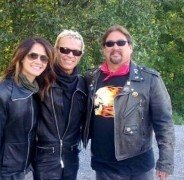 Famous rock star Billy Idol a client of Rentachopper!