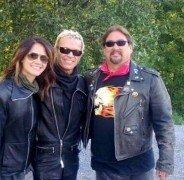 Famous rock star Billy Idol a client of Rentachopper!