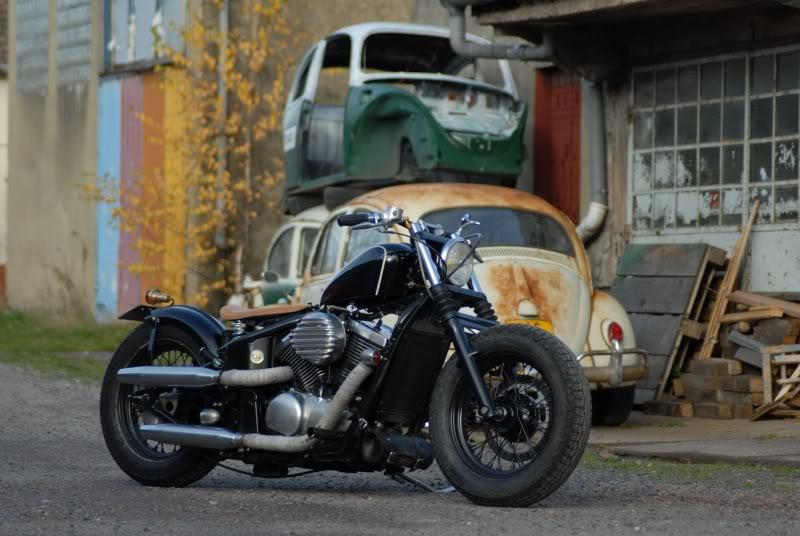 bobber kawasaki vn 800 rocker motorcycle rental. Black Bedroom Furniture Sets. Home Design Ideas