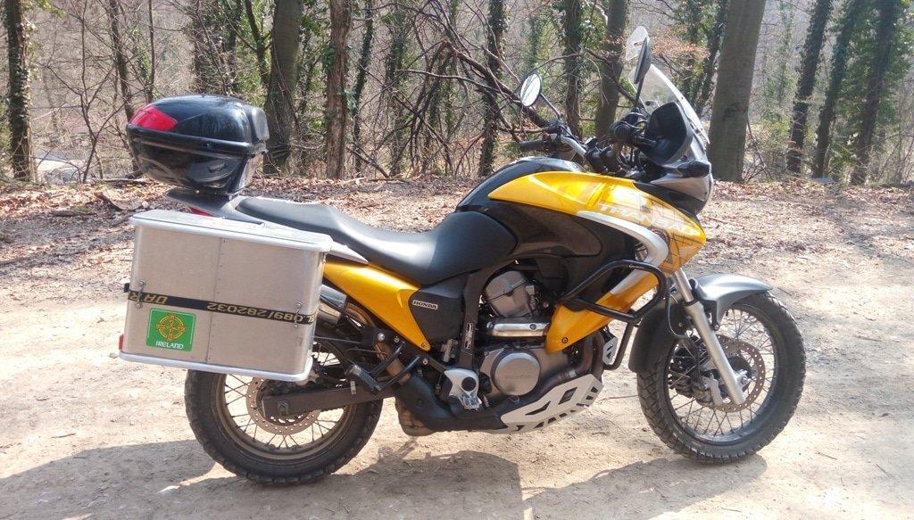 honda transalp 700 abs rocker motorcycle rental in croatia. Black Bedroom Furniture Sets. Home Design Ideas